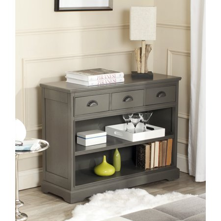 Safavieh Prudence Contemporary Bookshelf Storage Unit With 3 Drawers