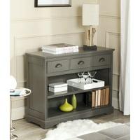 Safavieh Prudence Contemporary Bookshelf Storage Unit with 3 Drawers