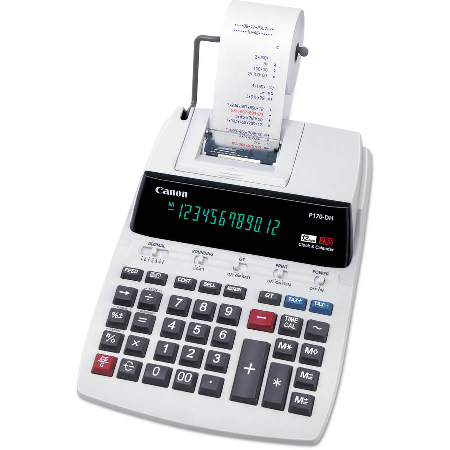 Canon P170DH Desktop Calculator