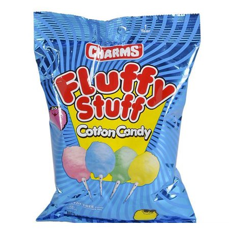 2oz 2.1 OZ CHARMS COTTON CANDY BAG, Case of 24 - Candy Charm