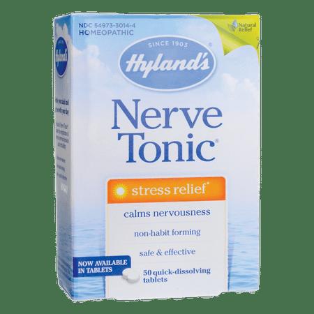 Hyland's Nerve Tonic 50 Tabs