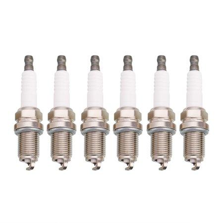 6pcs Spark Plugs for Acura Honda Hyundai Infiniti Isuzu Kia Lexus Mazda Mitsubishi Nissan Scion Subaru Suzuki