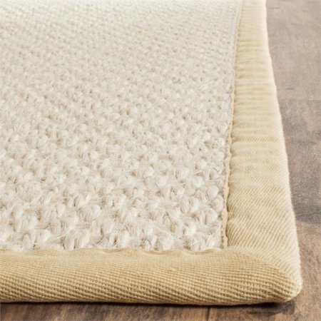 Safavieh Natural Fiber 8' X 10' Hand Woven Rug in Sand - image 1 de 4