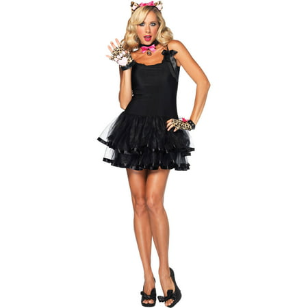 Cougar Halloween Costume (Leg Avenue Women's 3 Piece Cougar Costume Kit, Leopard, One)