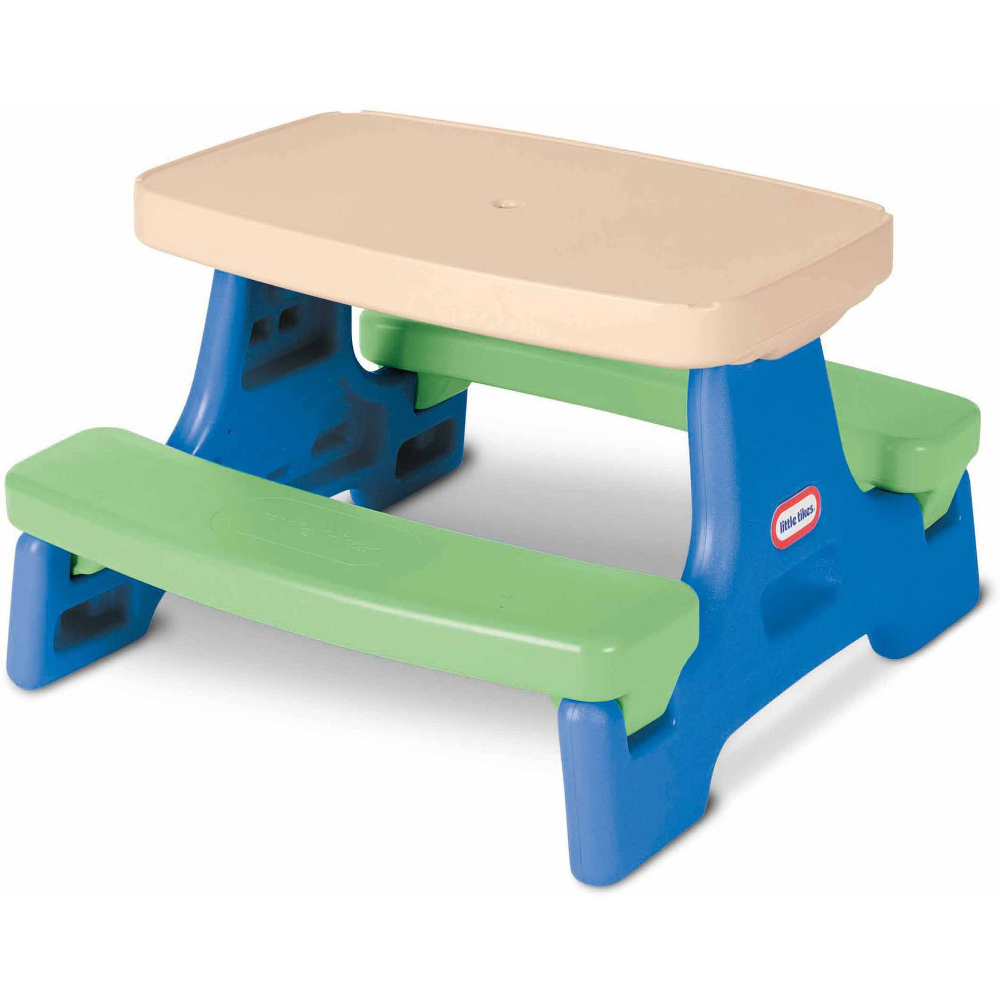 Little Tikes Easy Store Jr Play Table Walmart Com