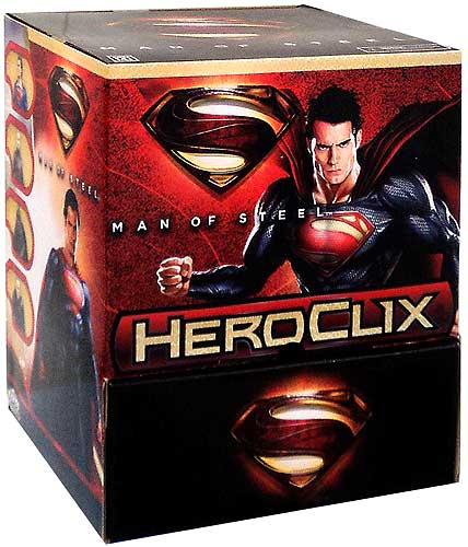 DC HeroClix Man of Steel Booster
