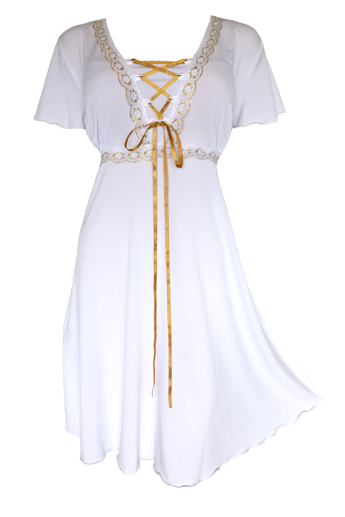 Dare To Wear Victorian Gothic Boho Women's Plus Size Angel Corset Dress S - 5x