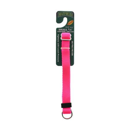 Hatfield 5/8 X 8-12 Small Control Collar, Neon Pink - Hatfield Halloween