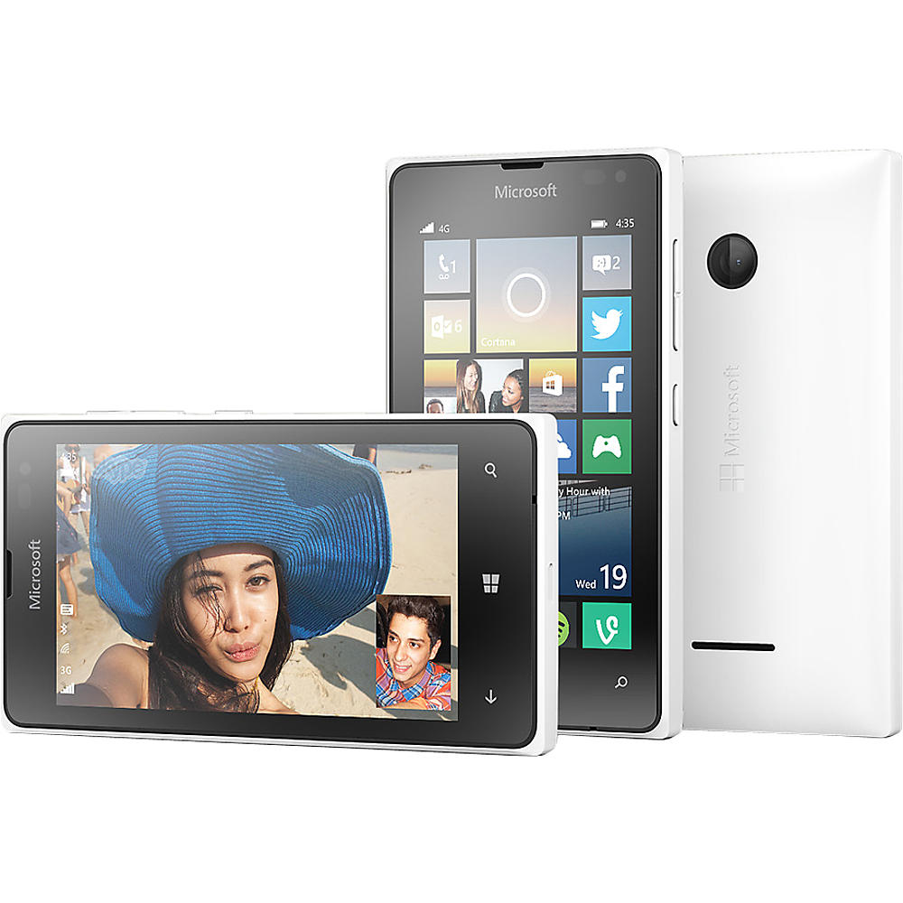 Microsoft Lumia 435 Windows GSM 4G LTE Smartphone by T-Mo...