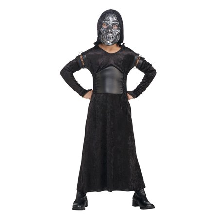 Costumes For Females (Child Harry Potter Female Death Eater- Bellatrix Costume Rubies)