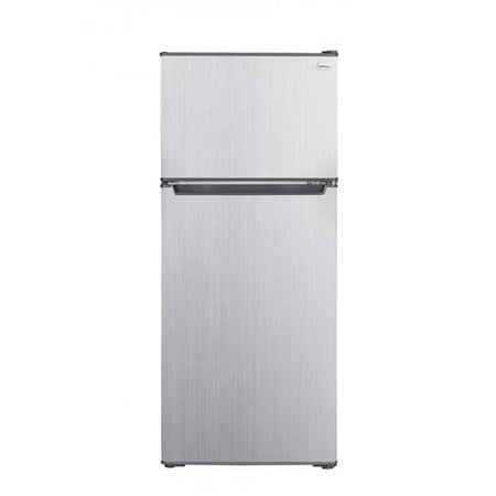 2-Gig RC-2450SLG 4.5 cu. ft. Compact Mini Refrigerator with Top Mount Freezer