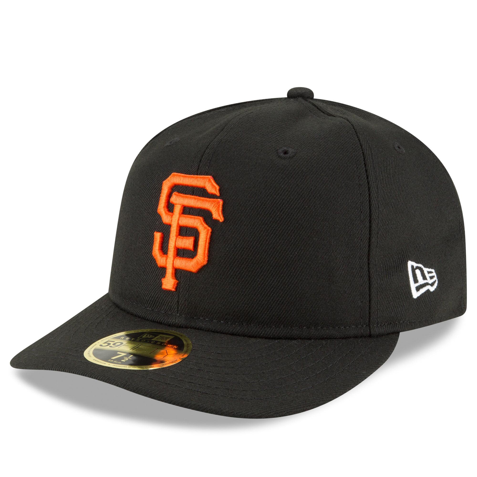 San Francisco Giants New Era Fan Retro Low Profile 59FIFTY Fitted Hat - Black