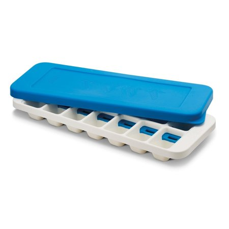 Best Joseph Joseph QuickSnap Plus Easy-Release Ice-Cube Tray with Stackable Lid - Blue deal