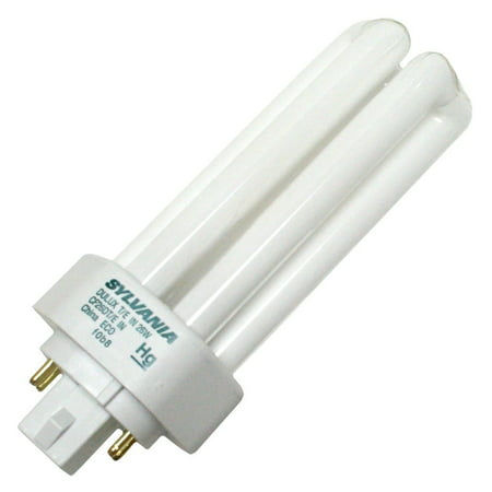 (Case of 50) Sylvania 20880 CF26DT/E/IN/830/ECO 26-Watt 3000K 4-Pin Triple Tube Compact Fluorescent (3000k 4 Pin Twin Tube)
