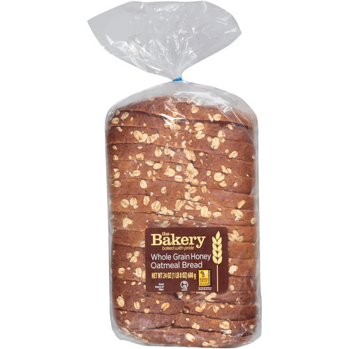 The Bakery Whole Grain Honey Oatmeal Bread, 24 oz