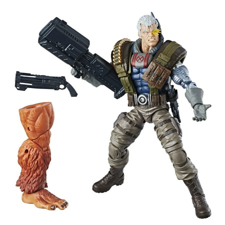 Marvel Legends Series 6-inch Cable Action Figure, Ages 4+