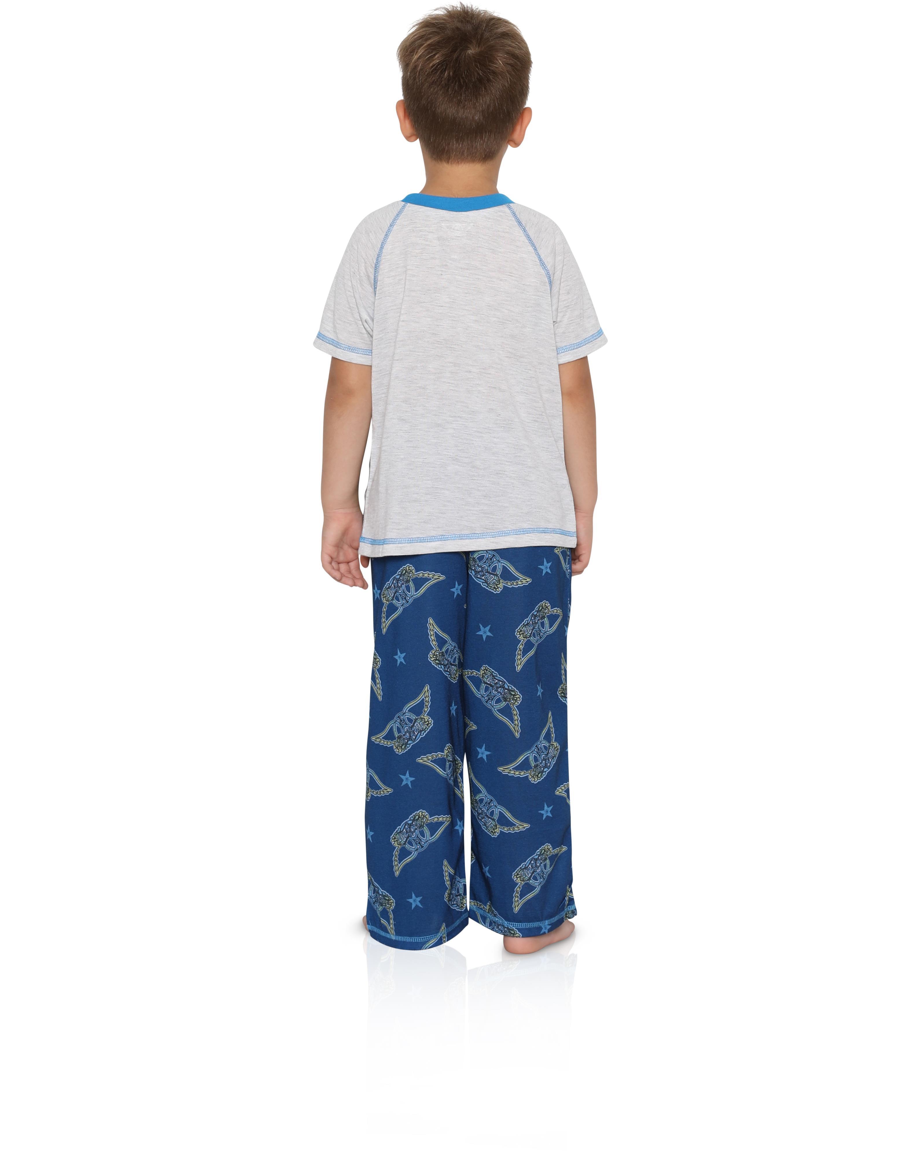 Aerosmith Boys Big 2 Piece Pajama Set