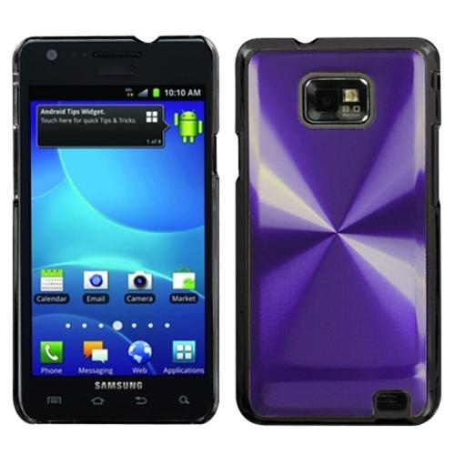 Insten Purple Cosmo Back Case for SAMSUNG: I777 (Galaxy S II)