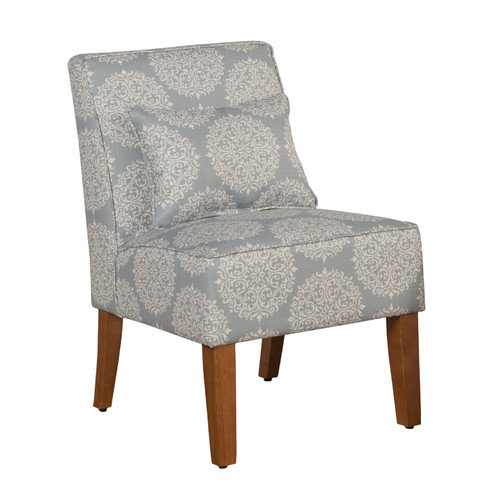 Kinfine USA Slipper Accent Chair - Porcelain Blue