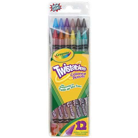 Crayola 30 Count Twistable Colored Pencils by Crayola