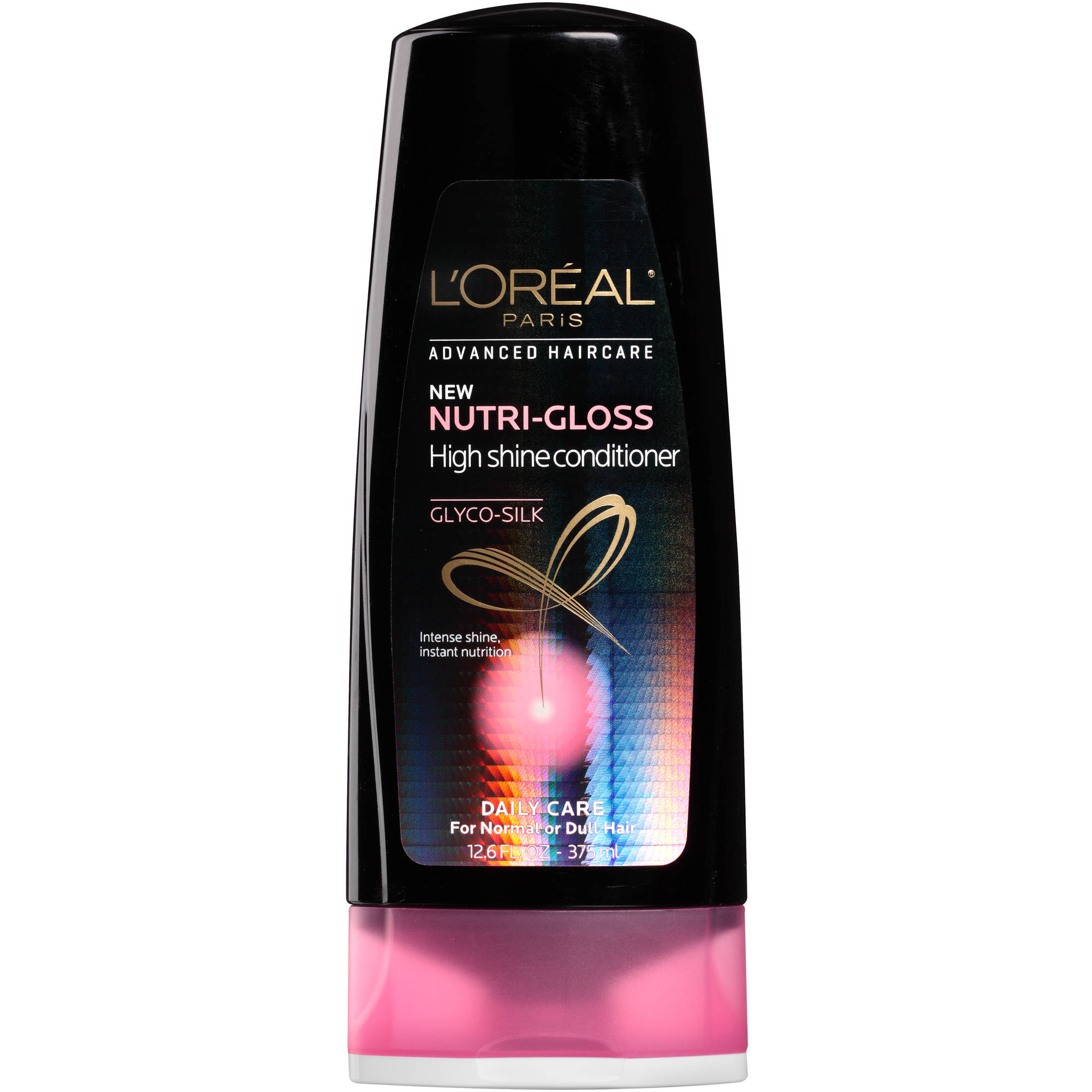 L'Oreal Paris Advanced Haircare Nutri-Gloss High Shine Conditioner, 12.6 fl oz