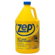 Zep Wet-Look Floor Polish 128 Ounces, Long Lasting Shine