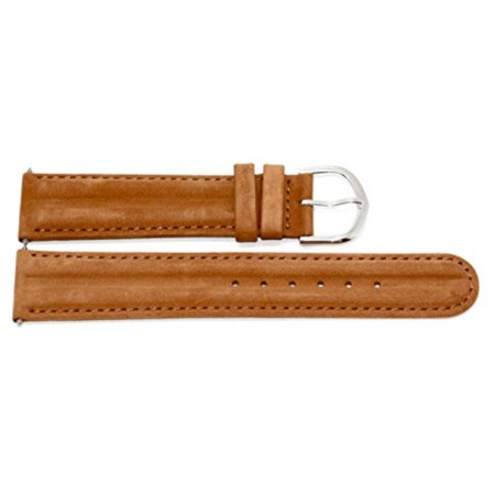 20mm Brown Distressed Leather Band Fits Timex Expedition Camper Watches (Timex Strap 20mm)