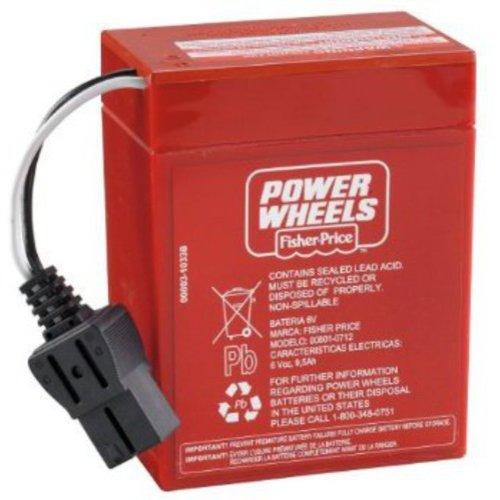 Fisher-Price Power Wheels 6-Volt Replacement Battery