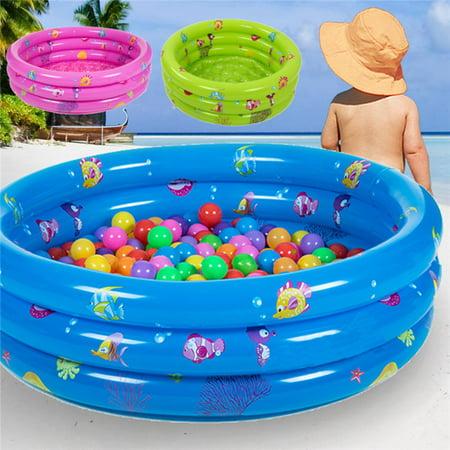 Bestway Family Kids Rectangular Inflatable Swimming Pool Kolam ...