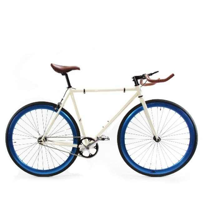 Zycle Fix ZF-PE-55 Glossy & Blue Ano Pearl Pursuit Fixie Bike - Size 55