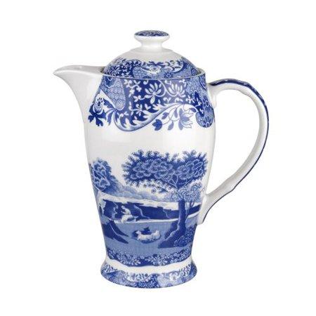 Spode Blue Italian 200Th Anniversary Sig. Hot Beverage Pot