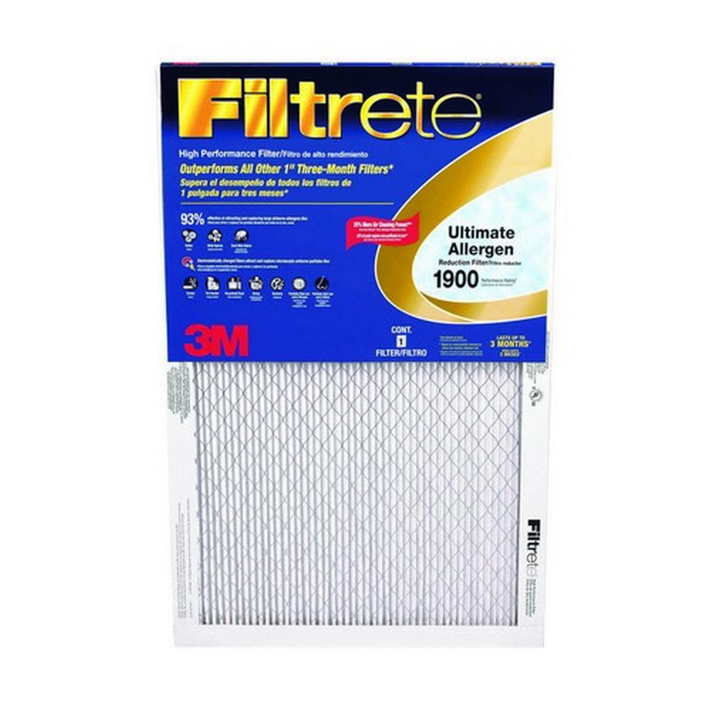 6/Pack Filtrete Ua05Dc-6 Filtrete Ult1900 14X20X1