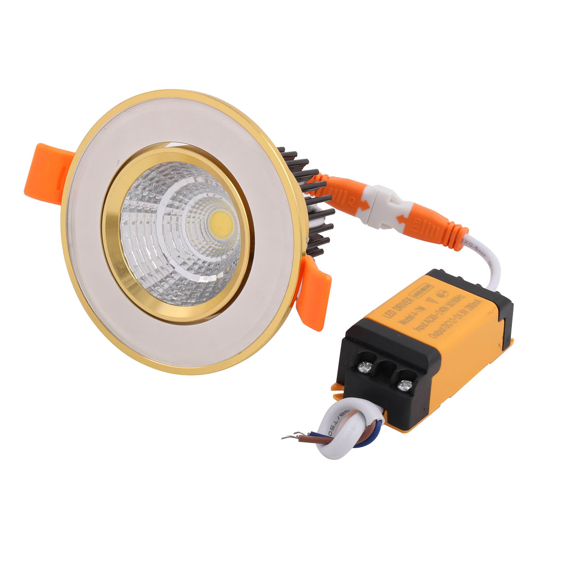 85~240V 560 lM Rotary LED Recessed Ceiling Downlight With LED Driver 4000K