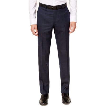 bar III Mens Active Stretch Dress Pant Slacks