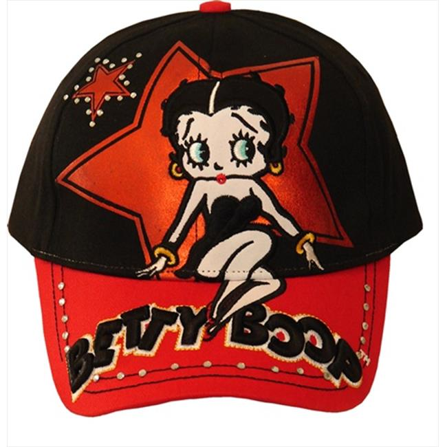 American Favorites 8025 Betty Star Embroidered Baseball Cap