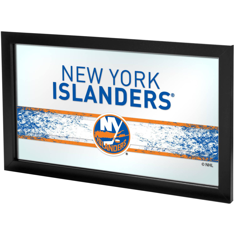 NHL Framed Logo Mirror, New York Islanders