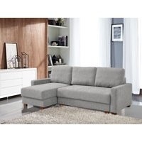 Deals on Lucas Serta 3-Seat Functional Sectional Sofa w/ Storage