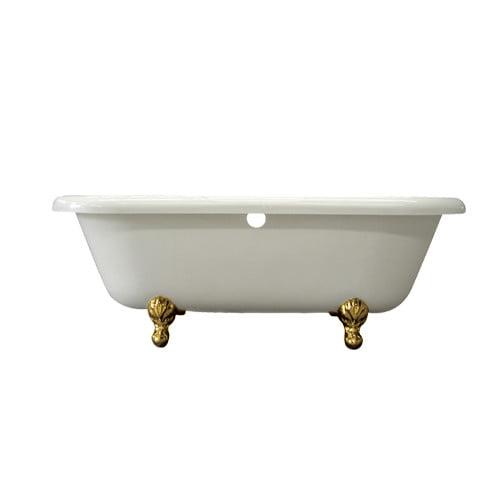 Elements of Design Vintage 67'' x 29'' Acrylic Soaking Bathtub