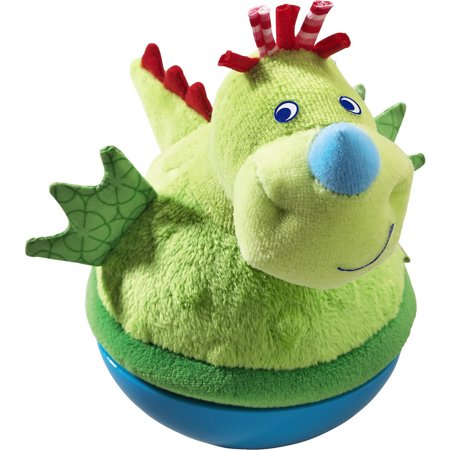 Haba Roly Poly Dragon Soft Wobbling Toy 300422 Haba Soft Toys