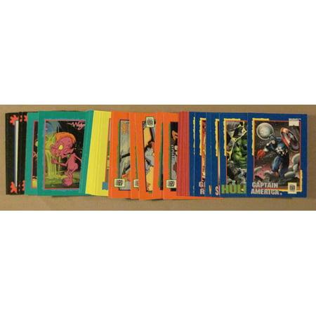 1991 Impel Trading Card Treats set (36) Nm/mt Marvel Super Mario brothers