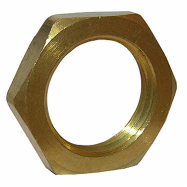 0.375 in. Female Pipe Brass Lock Nut - image 1 of 1