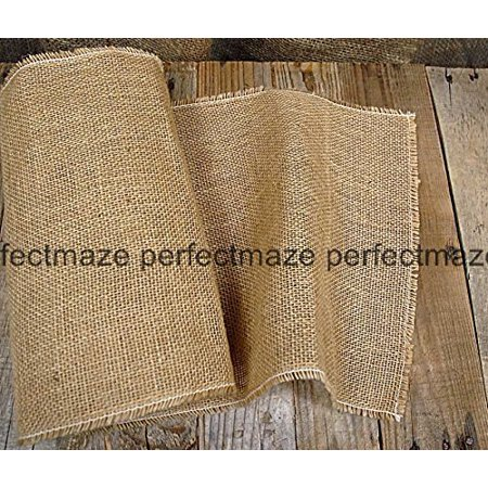 Perfectmaze - Burlap Table Runner 14 Inches X 108 Inches (14