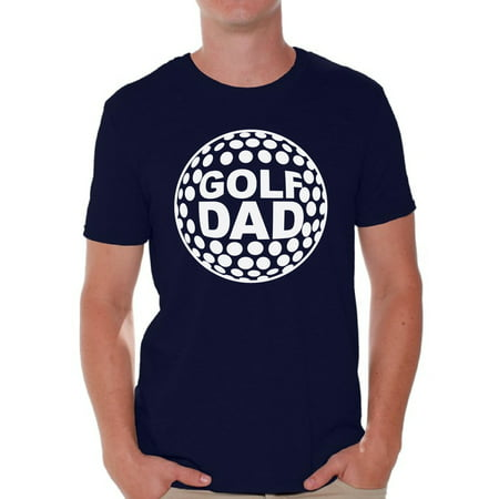 Golf Theme Ideas (Awkward Styles Men's Golf Dad Graphic T-shirt Tops White Sport Dad Gift Golf Player Father`s Day)