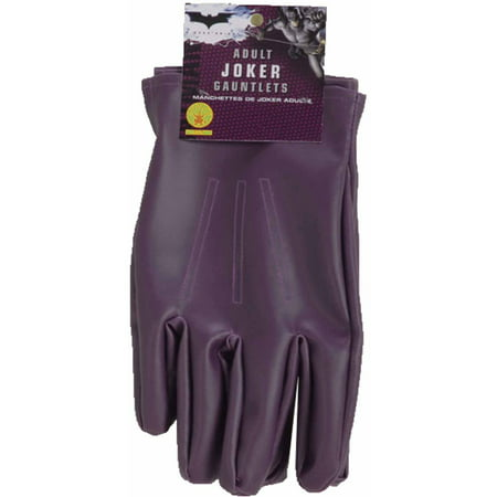 Batman Dark Knight Joker Gloves Adult Halloween Accessory - Disfraces De Batman Para Halloween