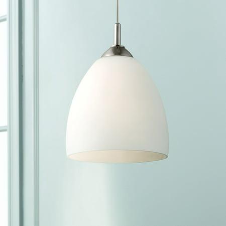 - Possini Euro Design Opal Glass Plug-In Swag Style 9