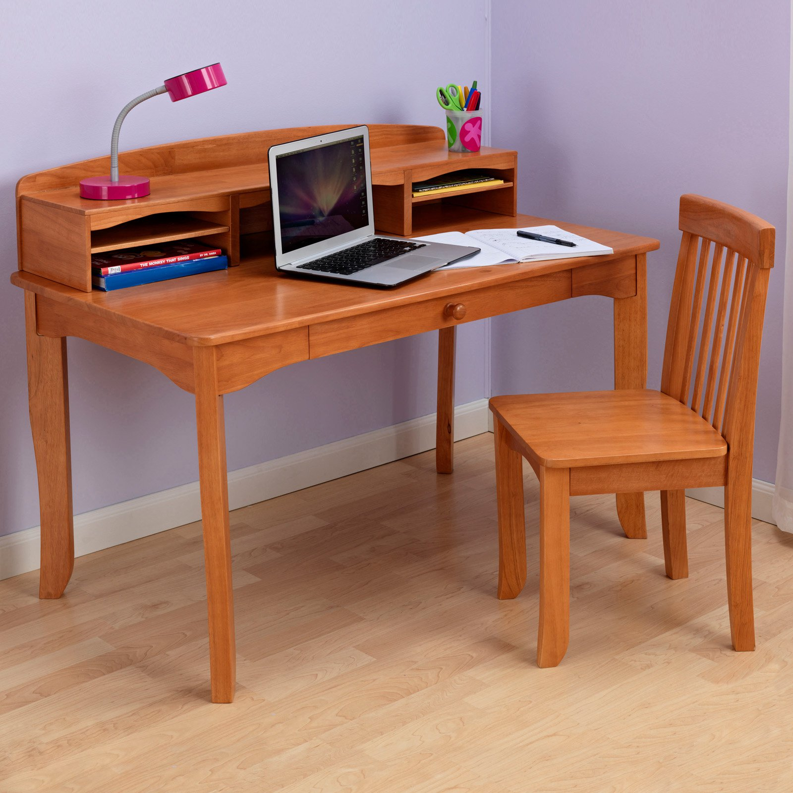KidKraft Avalon Desk with Hutch Walmart