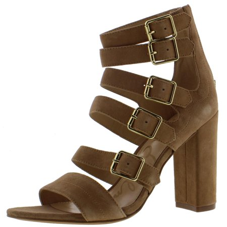 969a98a92dec Sam Edelman - Sam Edelman Womens Yasmina Suede Buckle Dress Sandals -  Walmart.com