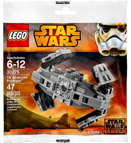 LEGO Star Wars Rebels TIE Advanced Prototype Set #30275 [Bagged] (Prototype Set)