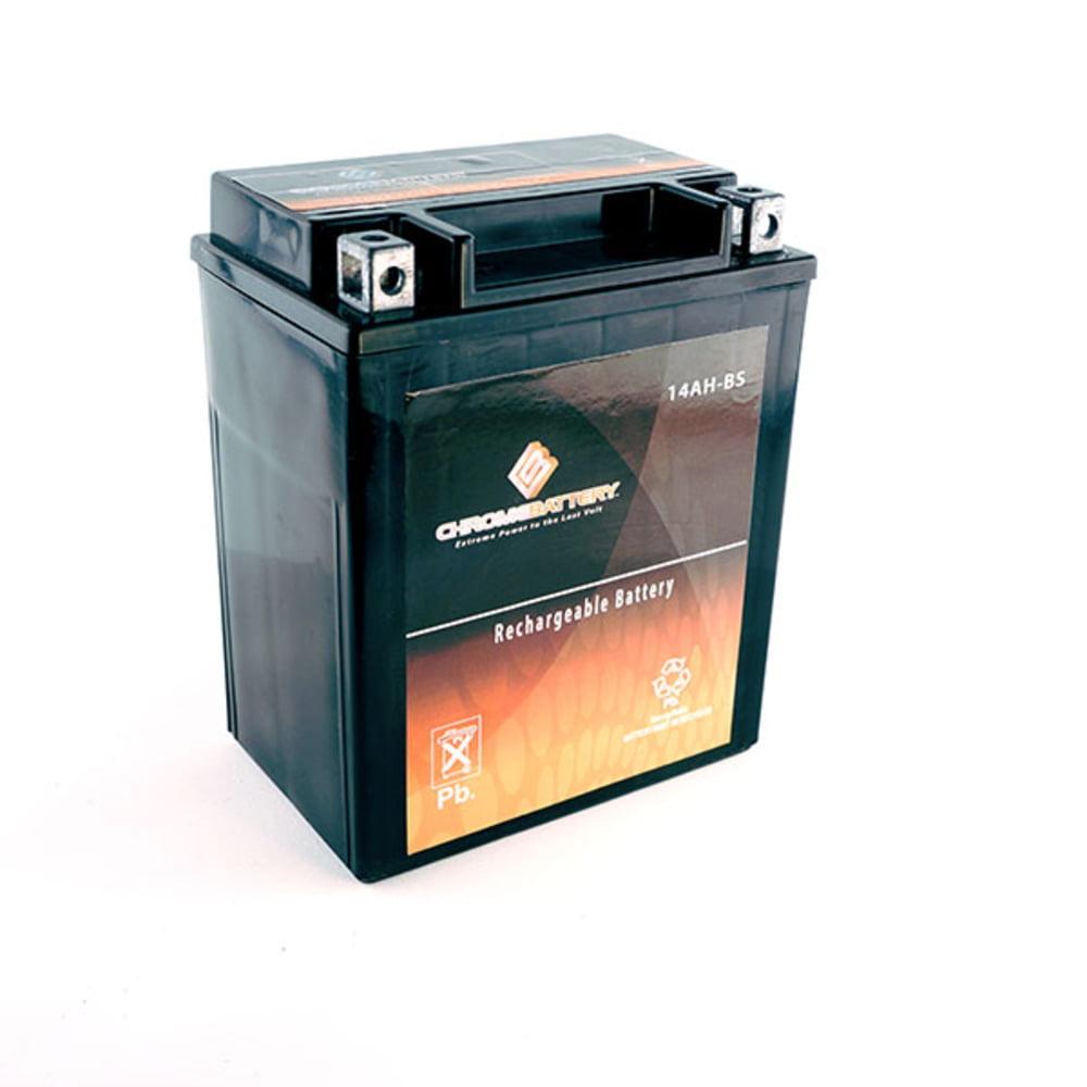 YTX14AH-BS High Performance Power Sports Battery