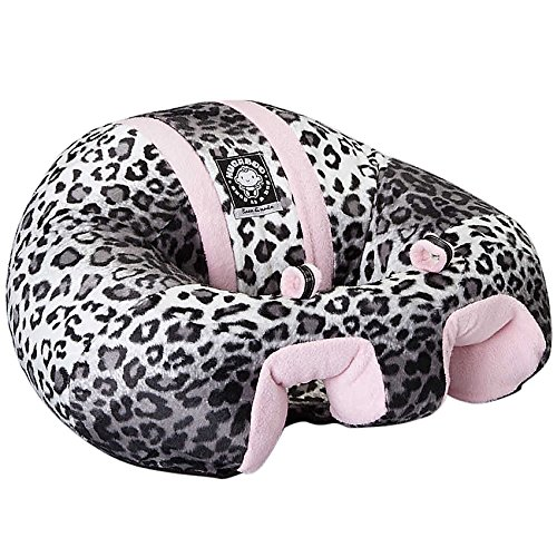 Hugaboo Infant Sitting Chair - Pink Snow Leopard